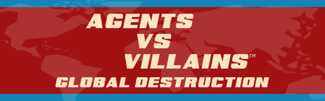 Agents vs Villain banner