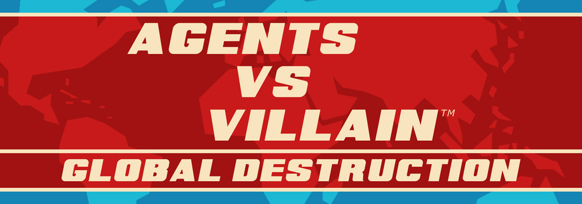 Frontpage – Agents vs Villain